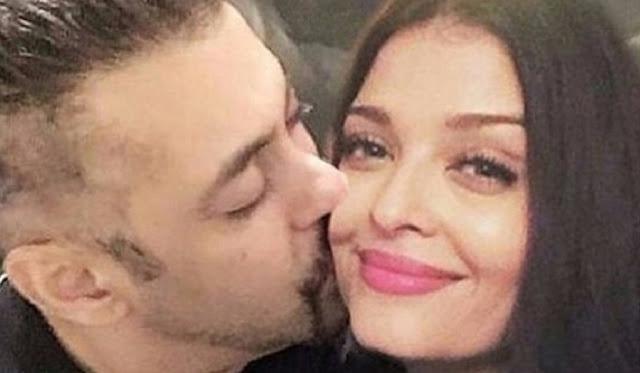 Salman Kissing Aishwarya