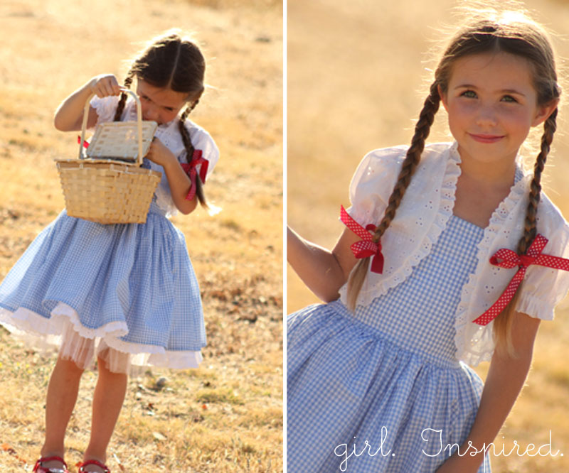Dorothy Dress Tutorial Girl Inspired