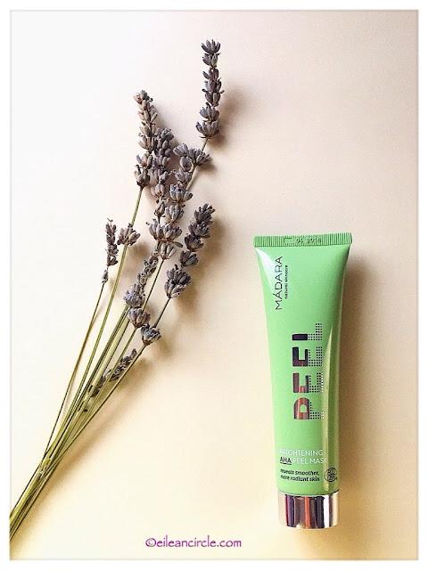 peeling, cosmética natural, Mádara organic skincare,
