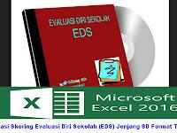 Aplikasi Skoring Evaluasi Diri Sekolah (EDS) Jenjang SD Format Terbaru