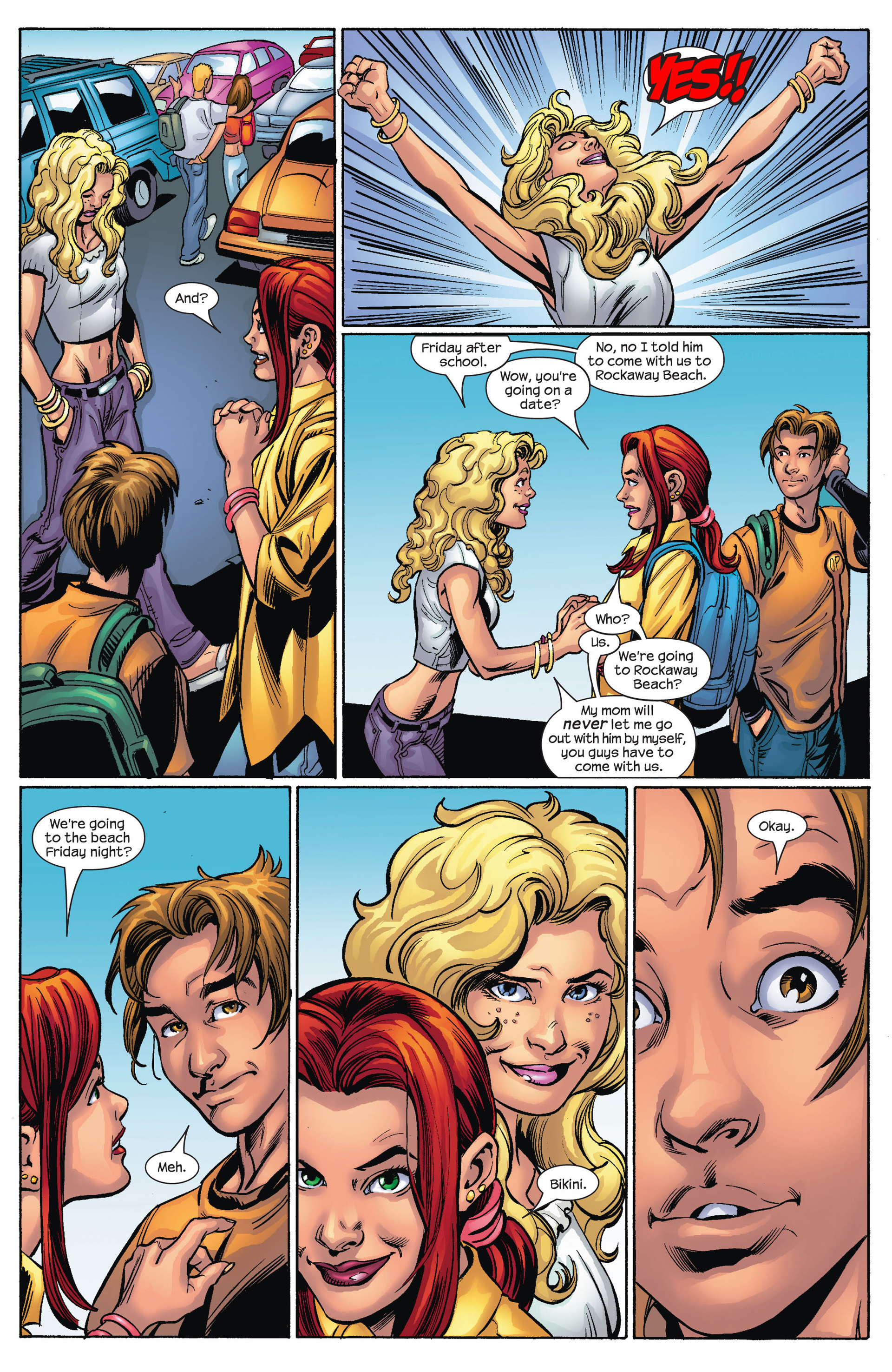 Read online Ultimate Spider-Man (2000) comic -  Issue #68 - 17