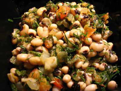 Black-Eyed Peas with Fresh Dill