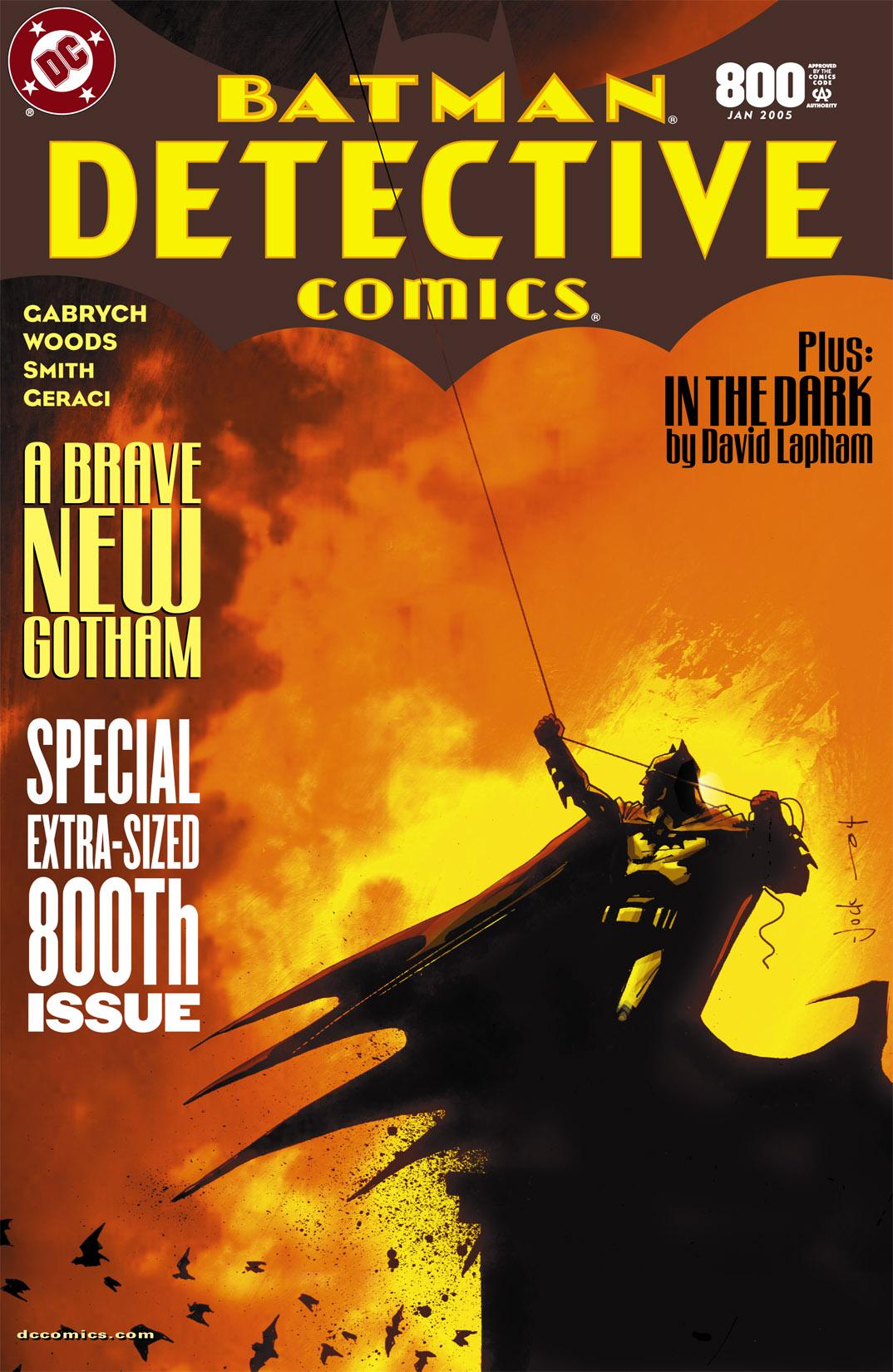 Detective Comics (1937) 800 Page 0
