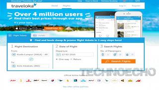 aplikasi pesan tiket pesawat online di hp andoid