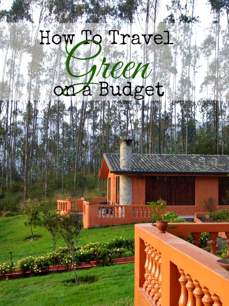 how to do green travel