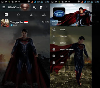 Download BBM MOD Man Of Steel.apk