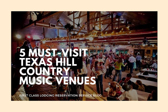5 best music venues in Texas Hill Country blog cover image