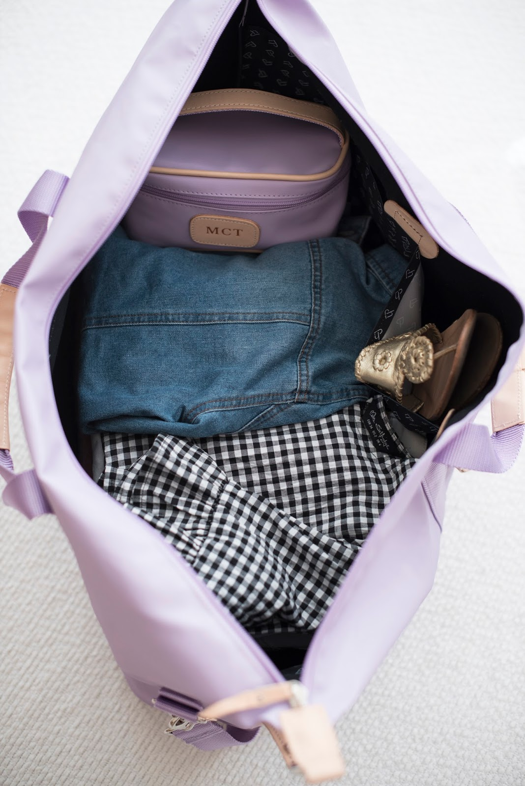 How to pack for spring getaways - Jon Hart Design on Something Delightful Blog