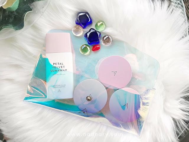 Petal Velvet Sunaway Sunscreen Kit