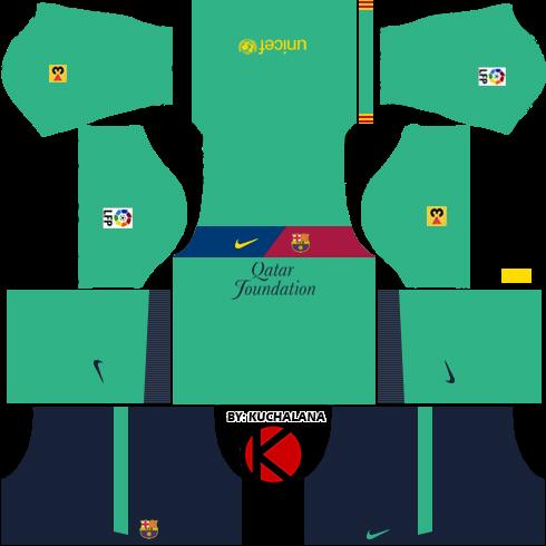 Barcelona Kits 2011/2012 - Dream League Soccer Kits - Kuchalana