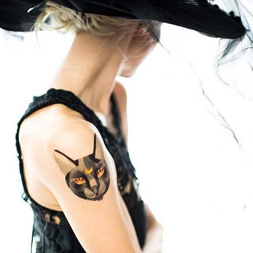 kedi dövmeleri cat tattoos 20