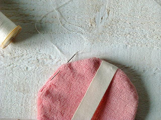 disques à démauiller lavables en coton recyclé