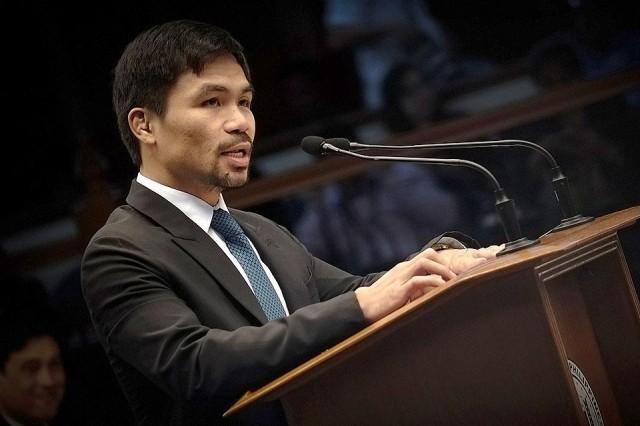 Pacquiao Slams CIDG on Issuance of Search Warrant: 'Kung involved kayo sa droga, pasensyahan tayo, hindi ninyo ako kasama.'