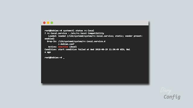 Solusi File 'rc.local' Hilang Pada Debian 9