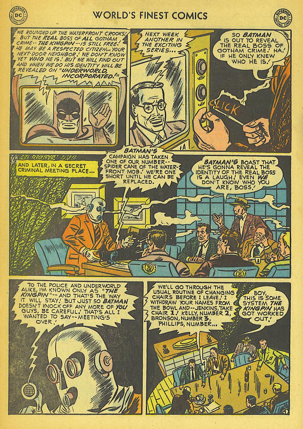 Read online World's Finest Comics comic -  Issue #57 - 56