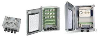 Cajas de toma de datos de sensores de vibración
