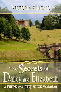 Book cover: The Secrets of Darcy and Elizabeth by Victoria Kincaid