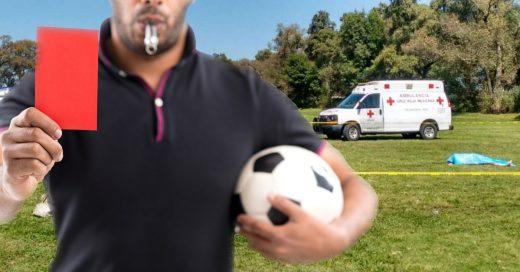 Jugador mata a árbitro de un cabezazo tras recibir la roja