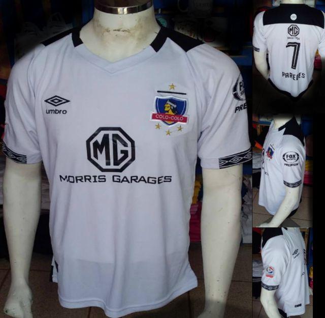 estas son las camisetas falsas de Colo Colo