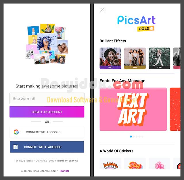 PicsArt Pro Full Unlocked APK Versi Terbaru