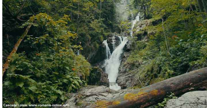 Cascada Lolaia din munții Retezat!
