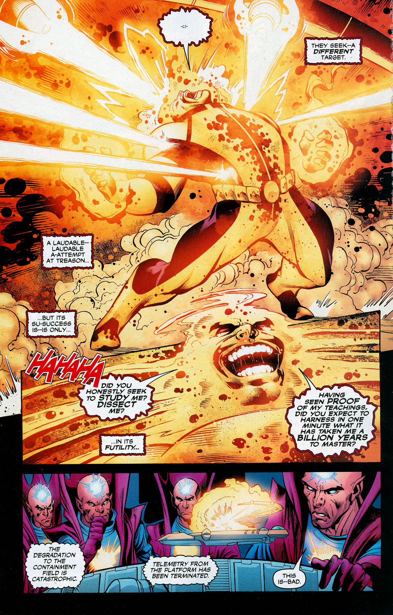 Read online Trinity (2008) comic -  Issue #20 - 28