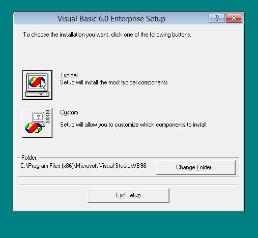 Cara Menginstall Visual Basic 6.0 di Windows 8 Agar Tidak Error