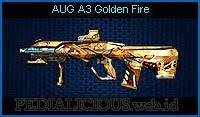AUG A3 Golden Fire