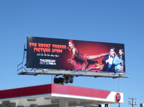 Rocky Horror Picture Show Fox remake billboard