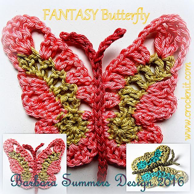 crochet patterns, how to crochet, butterfly, butterflies, fantasy