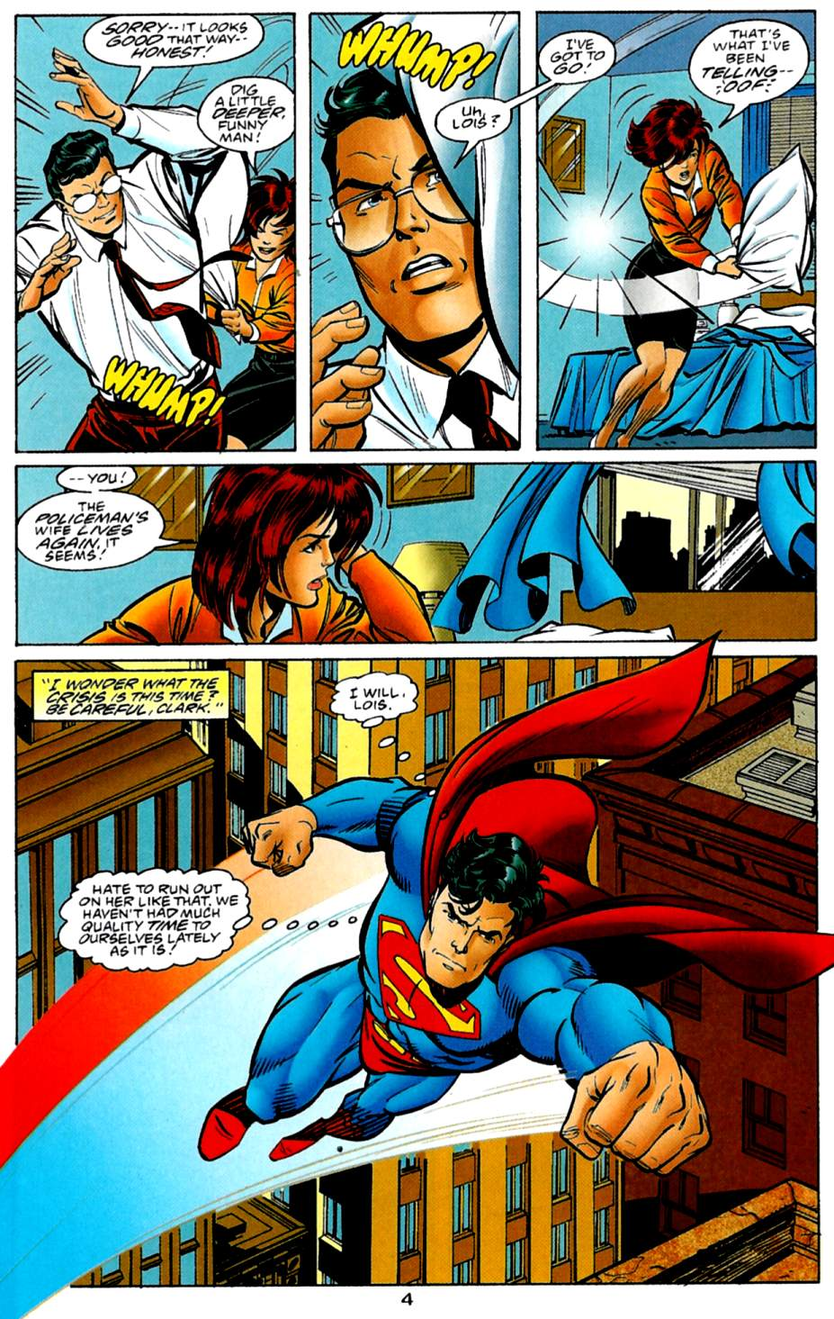 Read online Adventures of Superman (1987) comic -  Issue #561 - 5