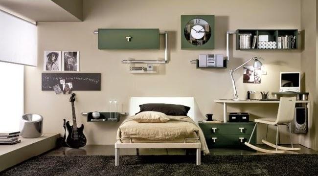 diseño dormitorio adolescente moderno