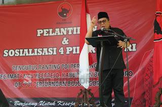 Abidin Fikri: Mengelola Partai Sama Dengan Mengelola Negara, Harus Dengan Ideologi Pancasila