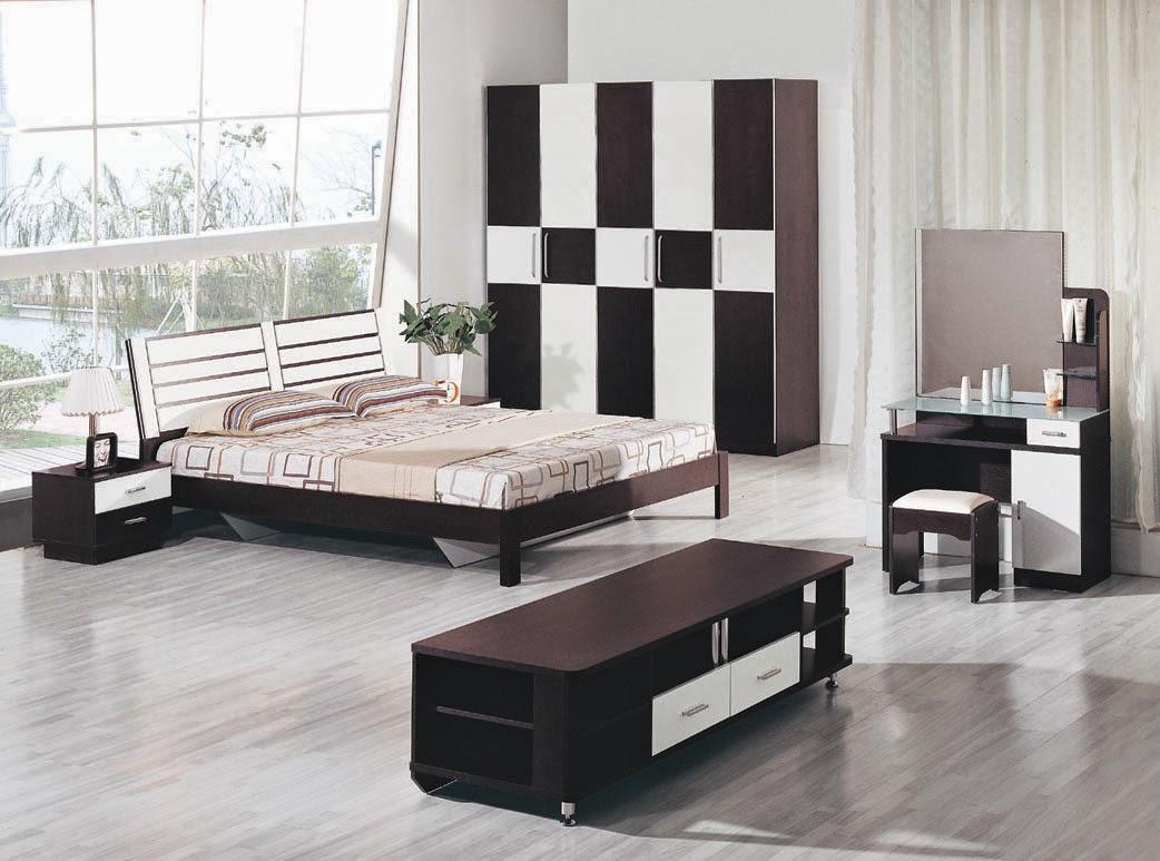 id e d coration chambre noir et blanc. Black Bedroom Furniture Sets. Home Design Ideas