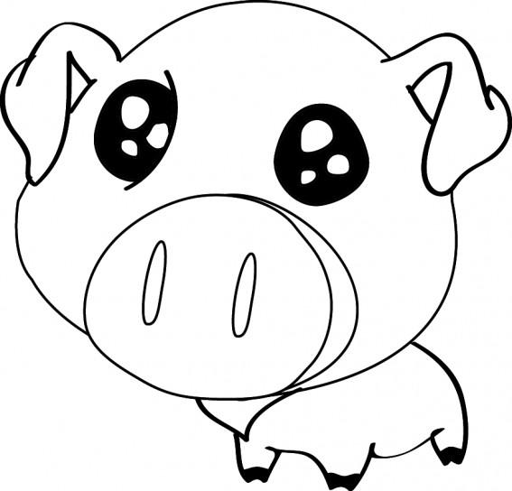 Immagini di maiali da colorare for Fattoria immagini da colorare