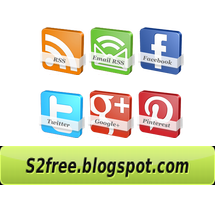 Stylish Animated 3D Social Media Widget For Blogger - Your