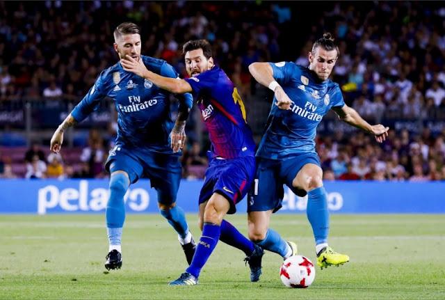 Ronaldo thẻ đỏ, Real Madrid vẫn hiên ngang rời Camp Nou 2
