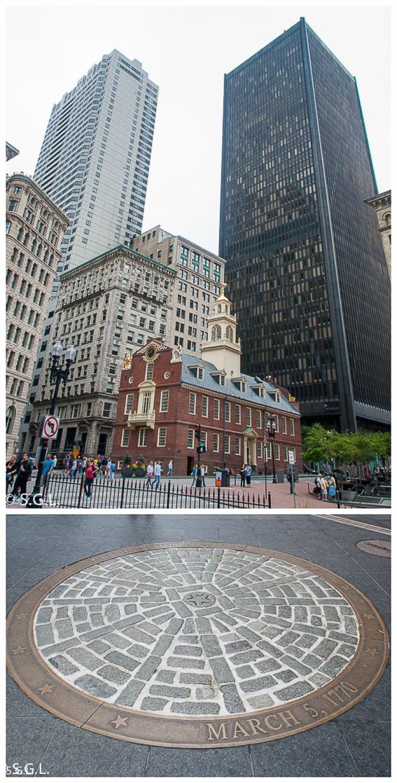 Old state house y la masacre de Boston en freedom trial