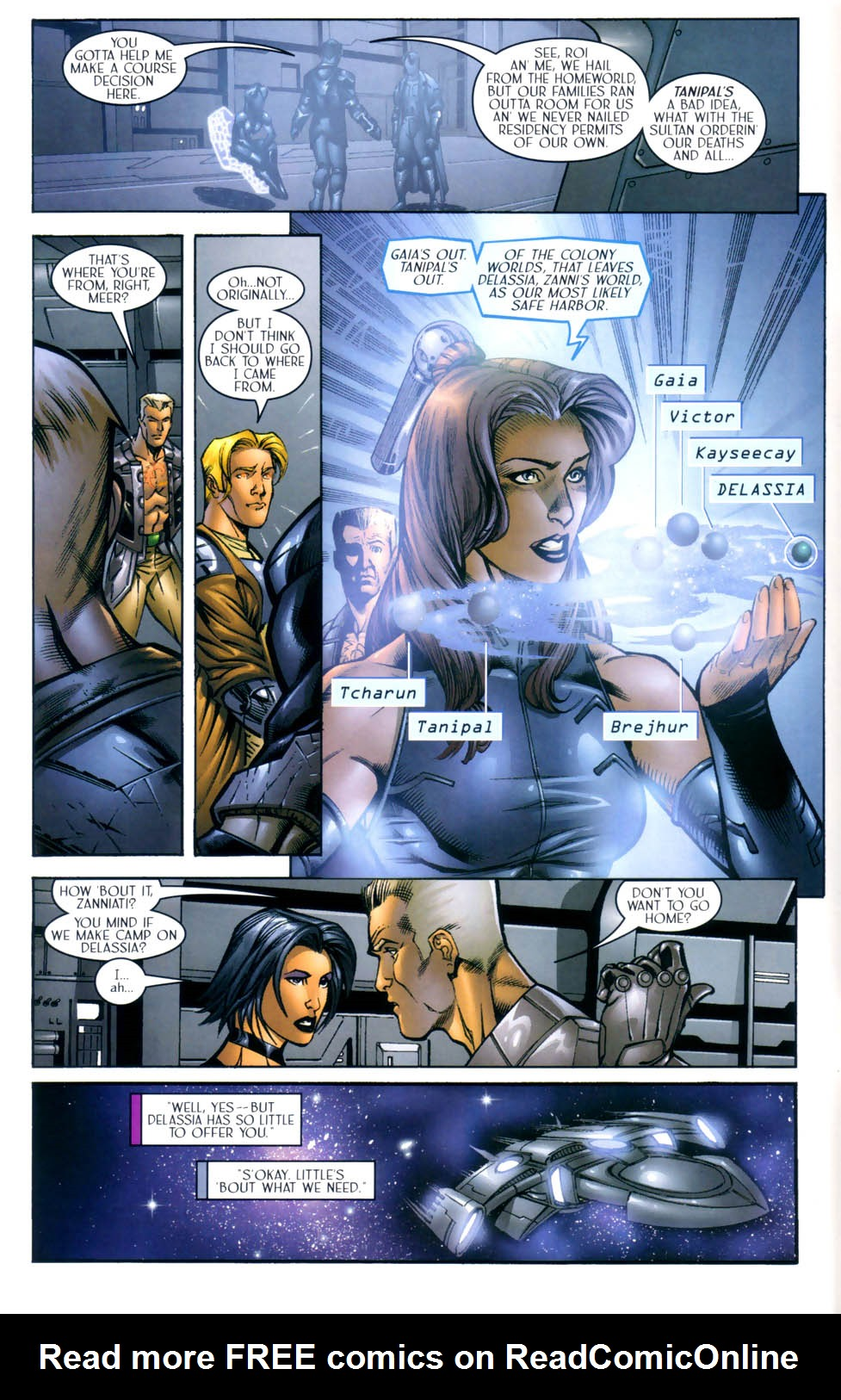 Read online Sigil (2000) comic -  Issue #8 - 9