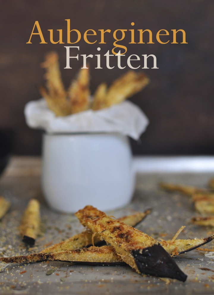 vegan, gluten free Eggplant Fries, no deep-frying required!