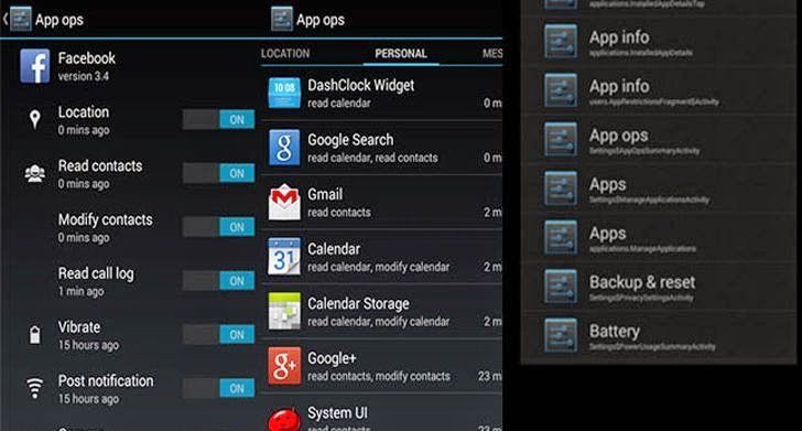App-Ops-Android-Permission-manager