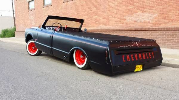 1968 Chevy C10 Custom Sled Street Scrapper Auto