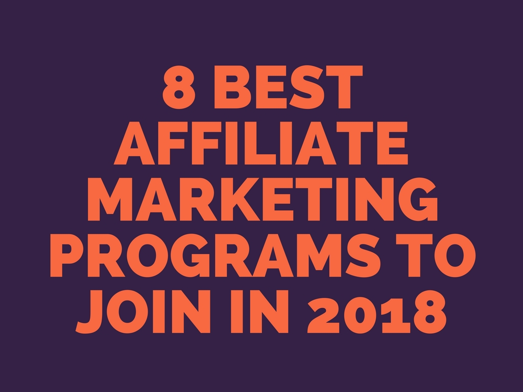 best affiliate networks, top affiliate programs, affiliate programs for blogger
