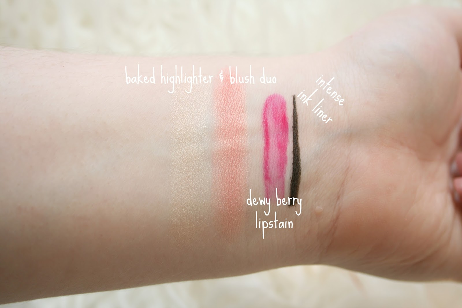 Elf Cosmetics Swatches