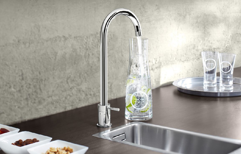 Nuovo sistema di filtrazione dell'acqua GROHE