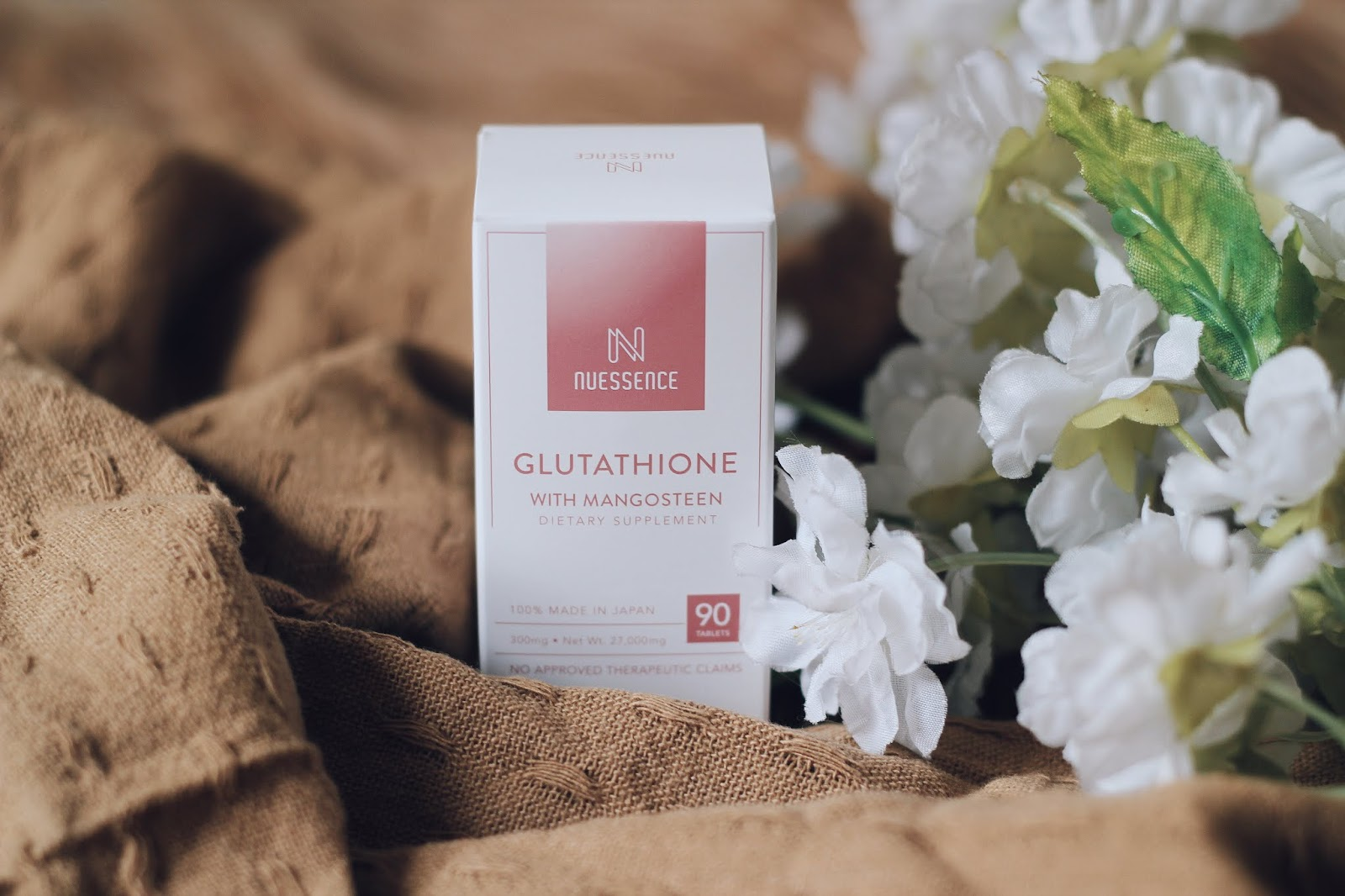 Nuessence Glutathione with Mangosteen Dietary Supplement