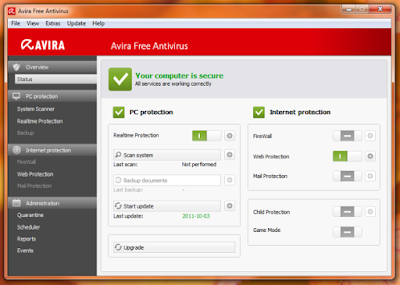 Avira Free Antivirus for PC