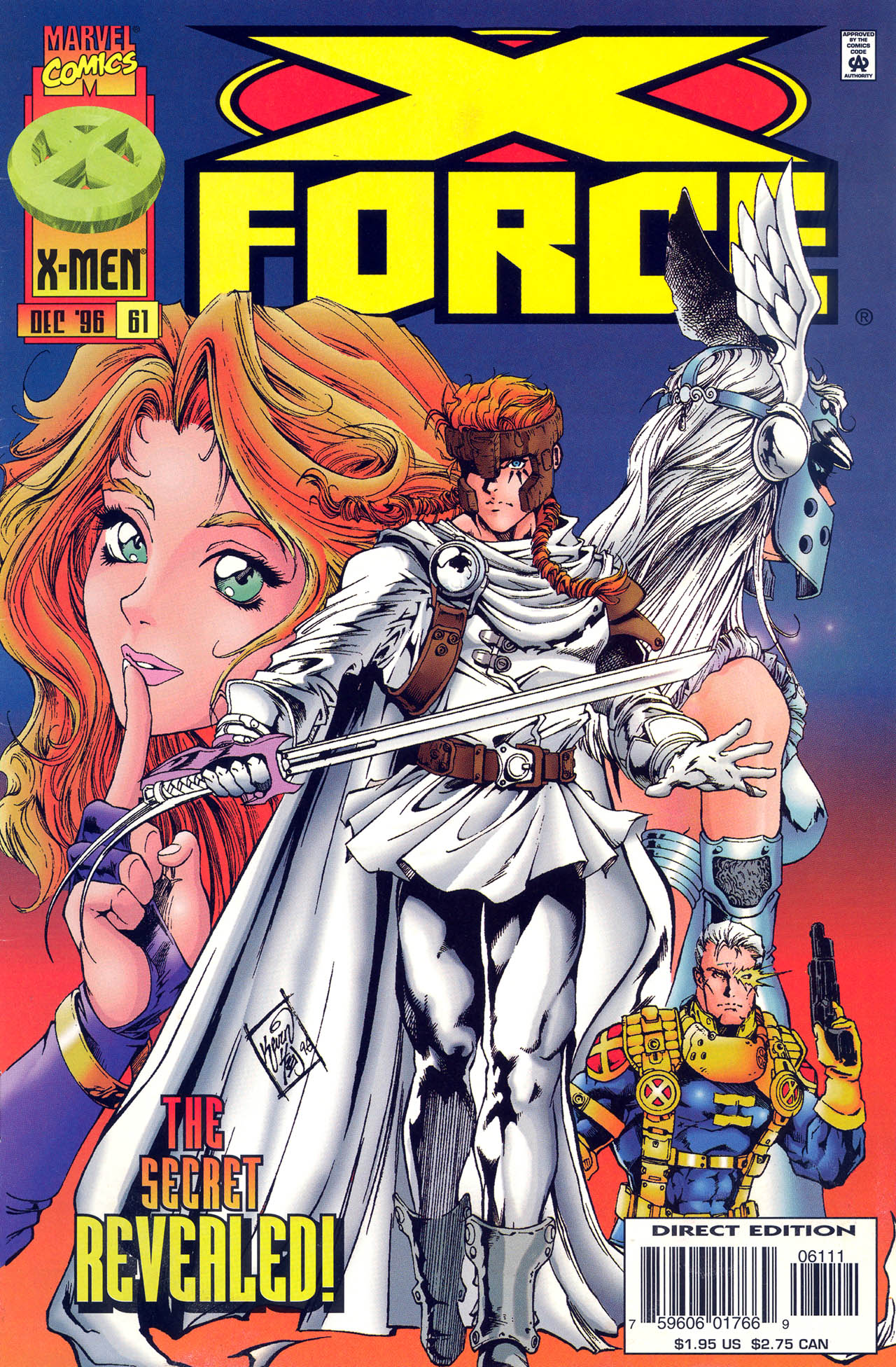 X-Force (1991) 61 Page 1