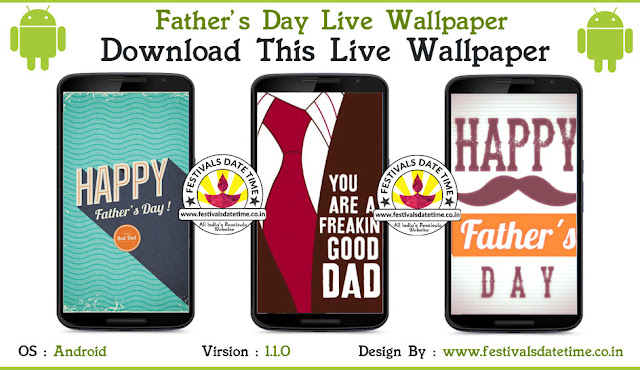 Father's Day Android Live Wallpaper Free Download