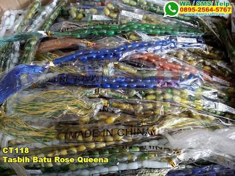 Harga Tasbih Batu Rose Queena